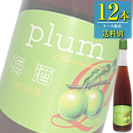 日和商事 梅酒 470ml瓶 x 12本ケース販売 (中国酒) (リキュール) (梅酒)