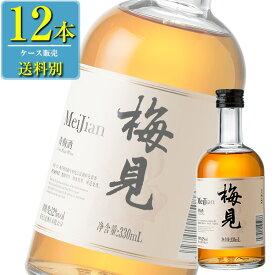 日和商事 江小白青梅酒 梅見 330ml瓶 x 12本ケース販売 (中国酒) (リキュール) (梅酒)