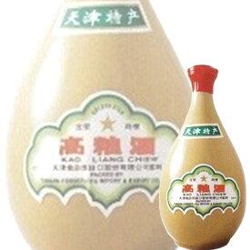 (単品) 日和商事 天津 高粮酒 壺 500ml (白酒) (中国酒)