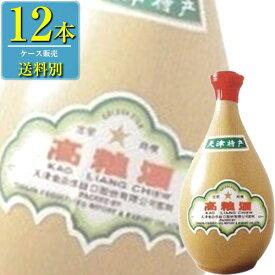 日和商事 天津 高粮酒 62% 500ml壺 x 12本ケース販売 (白酒) (中国酒)
