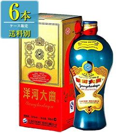 日和商事 洋河大曲 新天藍 500ml瓶 x 6本ケース販売 (白酒) (中国酒)