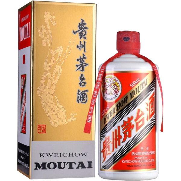【単品】日和商事「貴州茅台酒」500ml瓶【白酒】【中国酒】