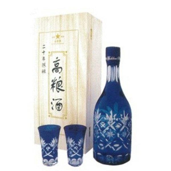 【単品】日和商事「20年陳醸 高粮酒」700ml瓶【白酒】【中国酒】