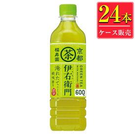 (あす楽対応可) サントリー 伊右衛門 緑茶 525mlペット x 24本ケース販売 (お茶)