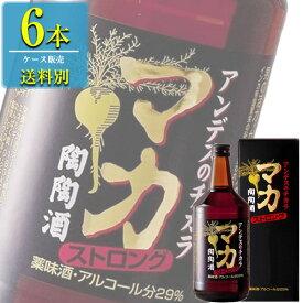陶陶酒 マカ ストロング陶陶酒 辛口 720ml瓶 x 6本ケース販売 (高栄養価) (滋養薬味酒)