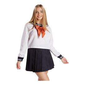セーラー服長袖 ホワイト
