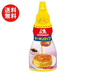 送料無料 森永製菓 ケーキシロップ(メープルタイプ) 200g×40(5×8)本入 北海道・沖縄・離島は別途送料が必要。