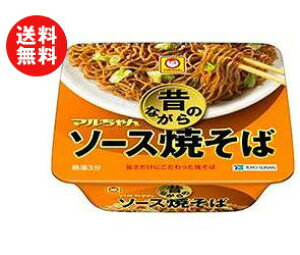 送料無料 東洋水産 マルちゃん 昔ながらのソース焼そば 132g×12個入 ※北海道・沖縄・離島は別途送料が必要。