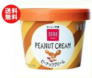 送料無料 スドージャム スドー 毎朝カップ ピーナッツクリーム 135g×12個入 ※北海道・沖縄・離島は別途送料が必要。