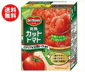 送料無料 【2ケースセット】キッコーマン 完熟カットトマト 388g紙パック×12個入×(2ケース) ※北海道・沖縄・離島は別途送料が必要。