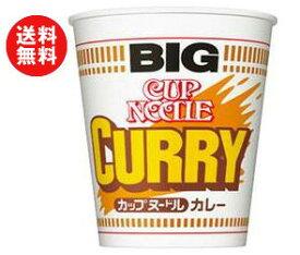 【送料無料】日清食品 カップヌードル カレービッグ 120g×12個入 ※北海道・沖縄・離島は別途送料が必要。