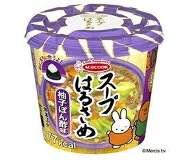 送料無料 エースコック スープはるさめ 柚子ぽん酢味 32g×12(6×2)個入 北海道・沖縄・離島は別途送料が必要。
