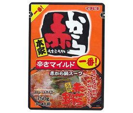 送料無料 イチビキ ストレート 赤から鍋スープ 1番 750g×10袋入 ※北海道・沖縄・離島は別途送料が必要。