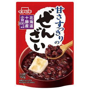 送料無料 イチビキ 甘さすっきりのぜんざい 160g×20(10×2)袋入 北海道・沖縄・離島は別途送料が必要。