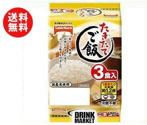 【送料無料】テーブルマーク たきたてご飯 コンパクト 3食 (180g×3個)×12個入 ※北海道・沖縄・離島は別途送料が必要。