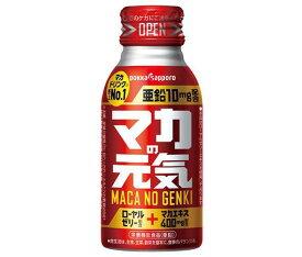 送料無料 ポッカサッポロ マカの元気ドリンク 100mlボトル缶×30本入 北海道・沖縄・離島は別途送料が必要。