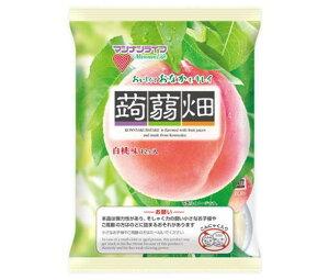 送料無料 マンナンライフ 蒟蒻畑 白桃味 25g×12個×12袋入 ※北海道・沖縄・離島は別途送料が必要。