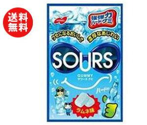 送料無料 ノーベル製菓 サワーズ(SOURS) ラムネ味 45g×6袋入 ※北海道・沖縄・離島は別途送料が必要。