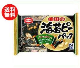 【送料無料】亀田製菓 海苔ピーパック 89g×12袋入 ※北海道・沖縄・離島は別途送料が必要。