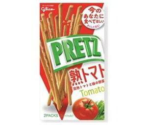 送料無料 グリコ PRETZ(プリッツ)熟トマト 60g×10個入 ※北海道・沖縄・離島は別途送料が必要。