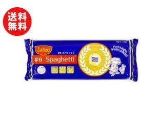 送料無料 【2ケースセット】ラティーノ #6スパゲッティ 1kg×12袋入×(2ケース) ※北海道・沖縄・離島は別途送料が必要。