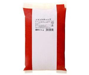 送料無料 【2ケースセット】ハグルマ JAS標準 トマトケチャップ 3kg袋パック×4袋入×(2ケース) ※北海道・沖縄・離島は別途送料が必要。