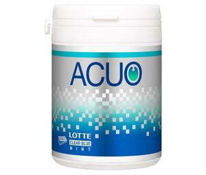 送料無料 ロッテ ACUO(アクオ) クリアブルーミント ファミリーボトル 140g×6個入 北海道・沖縄・離島は別途送料が必要。