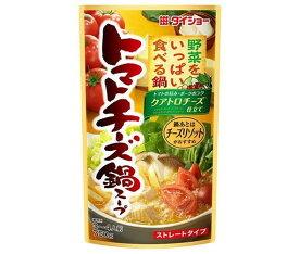 送料無料 【2ケースセット】ダイショー 野菜をいっぱい食べる鍋 トマトチーズ鍋スープ 750g×10袋入×(2ケース) 北海道・沖縄・離島は別途送料が必要。