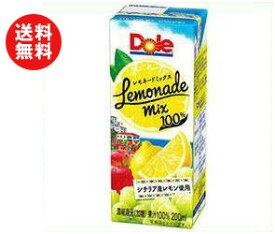 【送料無料】【2ケースセット】Dole(ドール) レモネードミックス 200ml紙パック×18本入×(2ケース) ※北海道・沖縄・離島は別途送料が必要。