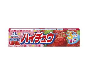 送料無料 森永製菓 ハイチュウ ストロベリー 12粒×12個入 北海道・沖縄・離島は別途送料が必要。