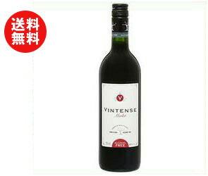 【送料無料】湘南貿易 ヴィンテンス メルロー 750ml瓶×12本入 ※北海道・沖縄・離島は別途送料が必要。