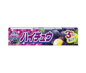 送料無料 森永製菓 ハイチュウ グレープ 12粒×12個入 北海道・沖縄・離島は別途送料が必要。