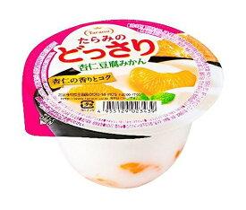 送料無料 たらみ たらみのどっさり 杏仁豆腐みかん 230g×24(6×4)個入 北海道・沖縄・離島は別途送料が必要。