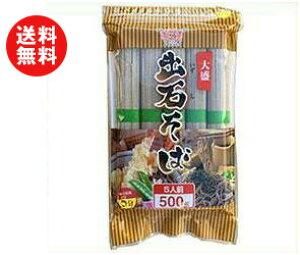 【送料無料】田靡製麺 大盛出石そば 500g×12袋入 ※北海道・沖縄・離島は別途送料が必要。