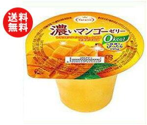 送料無料 たらみ 濃いゼロカロリー 濃いマンゴーゼリー0kcal 195g×24(6×4)個入 ※北海道・沖縄・離島は別途送料が必要。