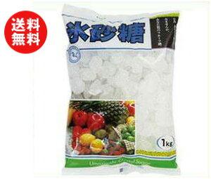 送料無料 【2ケースセット】中日本氷糖 馬印 氷砂糖クリスタル 1kg×10袋入×(2ケース) ※北海道・沖縄・離島は別途送料が必要。