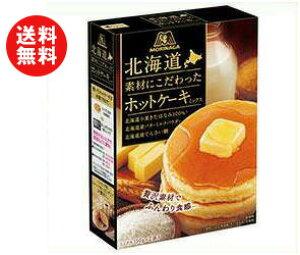 送料無料 森永製菓 北海道素材にこだわったホットケーキミックス 300g(150g×2袋)×20(5×4)箱入 ※北海道・沖縄・離島は別途送料が必要。