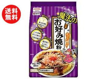 送料無料 昭和産業 (SHOWA) おいしく焼ける魔法のお好み焼粉 400g(100g×4袋)×6袋入 ※北海道・沖縄・離島は別途送料が必要。