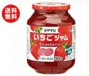 送料無料 【2ケースセット】カンピー いちごジャム 780g瓶×6個入×(2ケース) ※北海道・沖縄・離島は別途送料が必要。