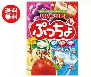 【送料無料】UHA味覚糖 ぷっちょ袋 4種アソート 98g×6袋入 ※北海道・沖縄・離島は別途送料が必要。