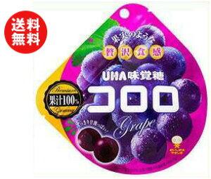 【送料無料】UHA味覚糖 コロロ グレープ 48g×6袋入 ※北海道・沖縄・離島は別途送料が必要。