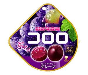 送料無料 UHA味覚糖 コロロ グレープ 48g×6袋入 北海道・沖縄・離島は別途送料が必要。