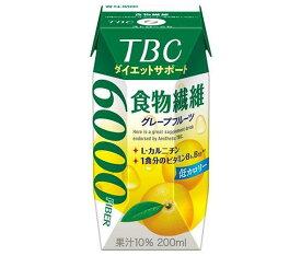 送料無料 森永乳業 TBC ダイエットサポート 食物繊維(プリズマ容器) 200ml紙パック×24本入 北海道・沖縄・離島は別途送料が必要。
