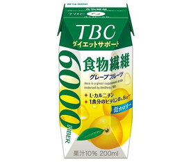 送料無料 【2ケースセット】森永乳業 TBC ダイエットサポート 食物繊維(プリズマ容器) 200ml紙パック×24本入×(2ケース) 北海道・沖縄・離島は別途送料が必要。
