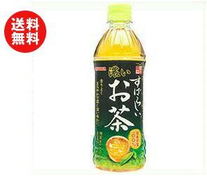 【送料無料】【2ケースセット】サンガリア すばらしい濃いお茶 500mlペットボトル×24本入×(2ケース) ※北海道・沖縄・離島は別途送料が必要。