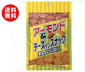 【送料無料】【2ケースセット】東洋ナッツ食品 トン アーモンド&チーズインスナック 40g×12袋入×(2ケース) ※北海道・沖縄・離島は別途送料が必要。