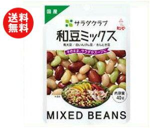 送料無料 【2ケースセット】キューピー 和豆ミックス 40g×10袋入×(2ケース) ※北海道・沖縄・離島は別途送料が必要。