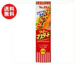【送料無料】【2ケースセット】エスビー食品 S&B つぶ入りマスタード 40g×10個入×(2ケース) ※北海道・沖縄・離島は別途送料が必要。