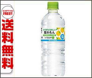 【送料無料】コカコーラ い・ろ・は・す(いろはす) 塩れもん 555mlペットボトル×24本入 ※北海道・沖縄・離島は別途送料が必要。