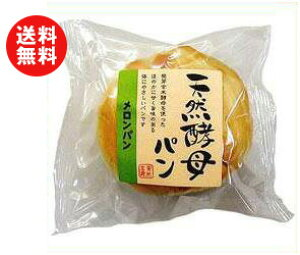 送料無料 天然酵母パン メロンパン 12個入 ※北海道・沖縄・離島は別途送料が必要。